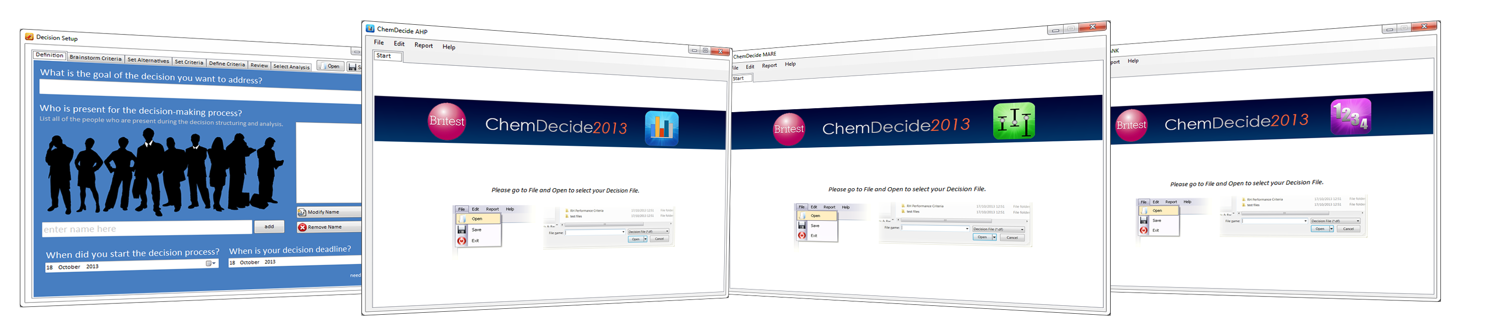 ChemDecide Decision Support Software